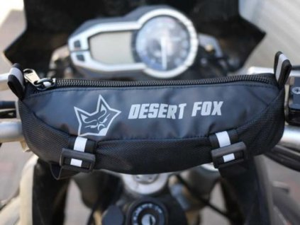 Desert Fox Motorcycle Handlebar Bag 533x400