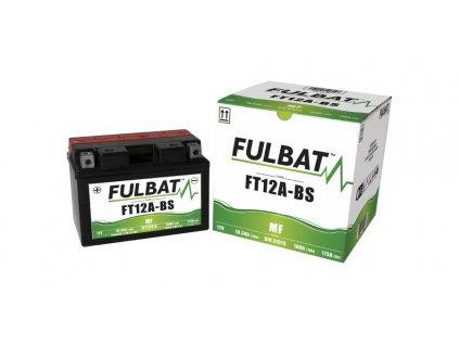 Baterie 12V, FT12A-BS, 10Ah, 175A, bezúdržbová MF AGM 150x87x105, A-TECH (vč. balení elektrolytu)