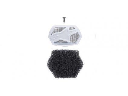 Kryt bradové ventilace pro přilby SUPERTECH S-M10 a S-M8, ALPINESTARS (bílá, vč. uhlíkového filtru)