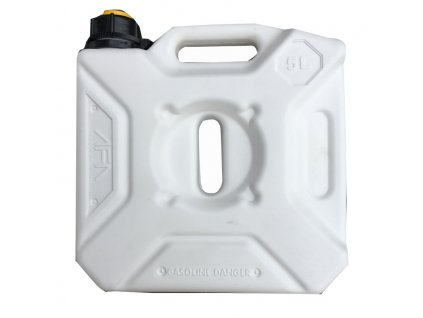 Kanystr na pohonné hmoty 5l - AFA - bílý