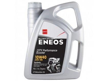 Motorový olej ENEOS CITY Performance Scooter 10W-40 4l