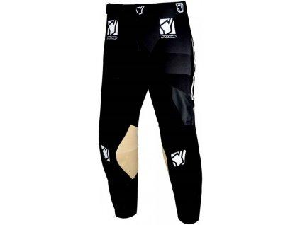 Motokrosové dětské kalhoty YOKO KISA černá 22
