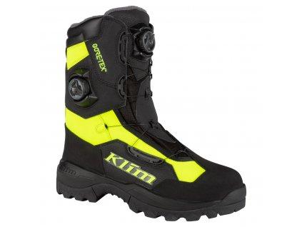 Adrenaline Pro GTX BOA Boot | KLIM | Rockway - BLACK - HI-VIS