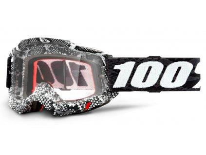 ACCURI 2 100% - USA , brýle Cobra - čiré plexi