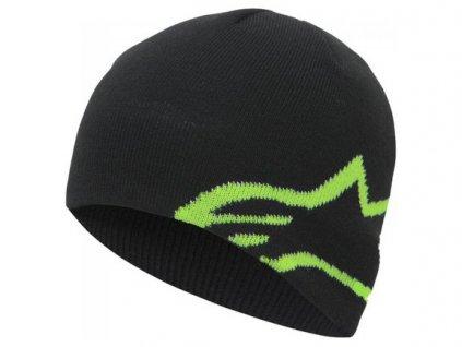 Čepice CORP SHIFT BEANIE, ALPINESTARS (černá/zelená)