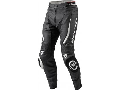 motorcycle leather pants revit gt r black white 14929 zoom
