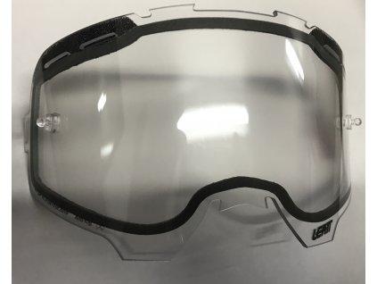 Dvojité čiré sklo LEATT Velocity Lens Enduro JW Clear Dual