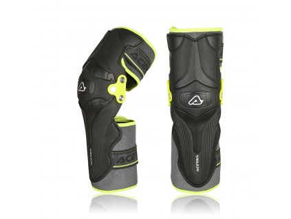acerbis chranice kolen x strong black yellow 1