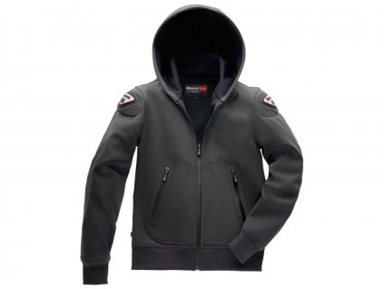 Bunda EASY MAN 1.1 s kapucí, BLAUER - USA (šedá)