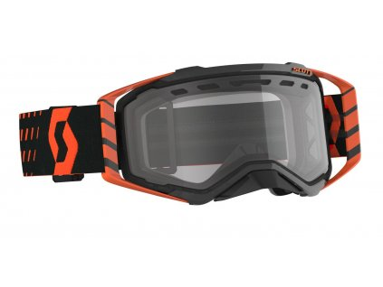 Brýle PROSPECT ENDURO, SCOTT - USA (oranžová/černá/ čiré plexi)