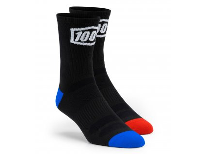 Ponožky TERRAIN 100% (černá)