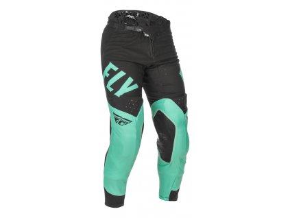 Kalhoty EVOLUTION 2021 LE, FLY RACING (mint zelená/černá)