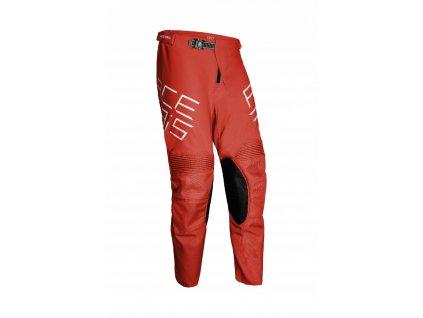 acerbis motokros kalhoty mx track cervene 1