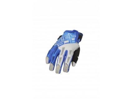 acerbis rukavice motokros detske modroseda 2
