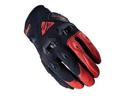 Rukavice na moto Five Stunt Evo 21 black/red