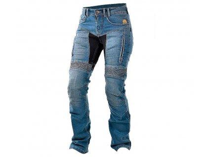 Dámské kevlarové džíny na motorku Trilobite 661 Parado blue