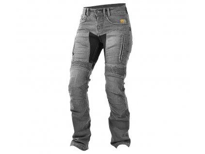 Dámské kevlarové džíny na motorku Trilobite 661 Parado grey