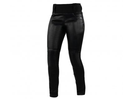Dámské kožené legíny na moto Trilobite 2061 leggins black