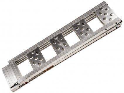 Nájezdová rampa - skládací - hliníková, Q-TECH (1 ks)
