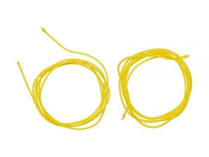 Náhradní tkaničky do vnitřní botičky pro boty Supertech R a systém vázání bot SMX Plus, ALPINESTARS (žluté, pár)