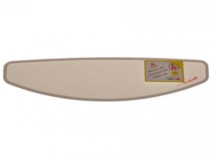 Folie na plexi antifog (čirá, d=28,8 cm, v=9,8 cm, samolepící okraj, folie proti zamlžení), NOX