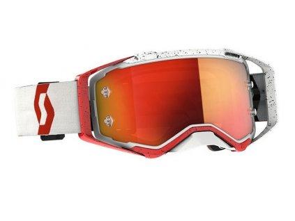 Brýle PROSPECT, SCOTT - USA (červená/oranžová/ oranžové chrom plexi)
