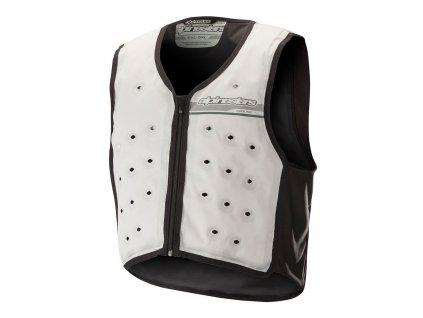 Chladící vesta COOLING VEST, ALPINESTARS (bílá/černá)
