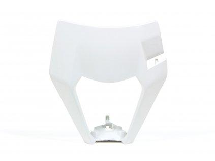 Přední maska enduro KTM, RTECH (bílá)