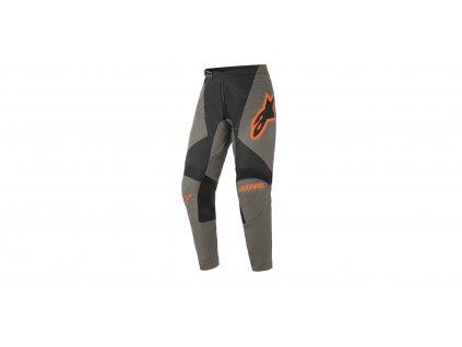 Kalhoty FLUID SPEED 2021, ALPINESTARS (tmavě šedá/černá/oranžová)