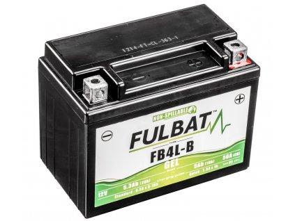 Baterie 12V, FB4L-B GEL, 12V, 5Ah, 50A, bezúdržbová GEL technologie 120x70x92 FULBAT (aktivovaná ve výrobě)