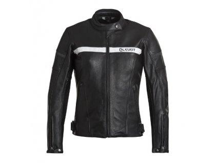 Dámská moto bunda ELEVEIT STRADE černo/bílá
