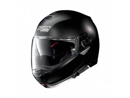 moto helma nolan n100 5 classic n com flat black 10