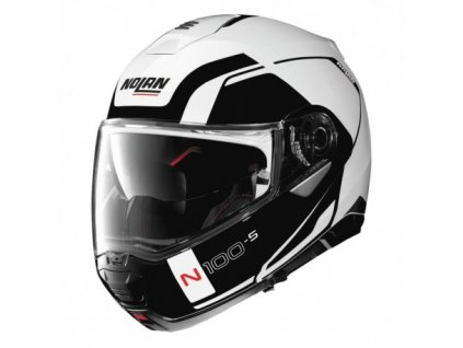 moto helma nolan n100 5 consistency n com metal white 19