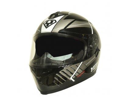 moto helma yohe 967 52 black