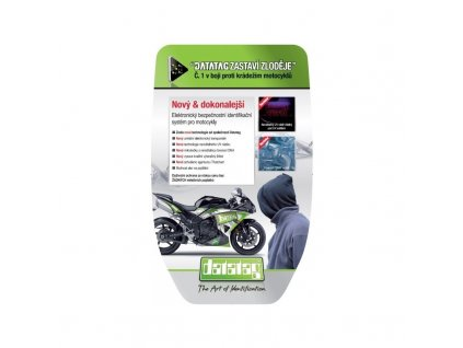 datatag bezpecnostni a registracni system proti kradezi pro motocykly