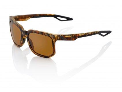 Sluneční brýle CENTRIC Soft Tact Havana, 100% (zabarvená bronzové skla)