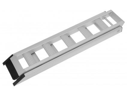 Nájezdová rampa - skládací - hliníková Q-TECH (1 ks)