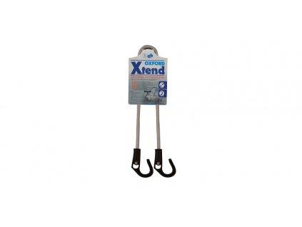 Gumicuk Xtend nastavitelný délka do/průměr popruhu 800/9 mm, OXFORD (hák/hák)
