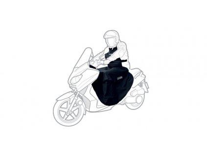 Přehoz přes nohy a tělo Scootleg textilní/nepromokavý, OXFORD (černý)