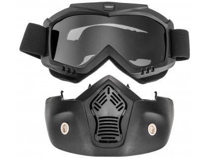 Brýle s maskou URNA (tmavé plexi) 40ed7f9e42
