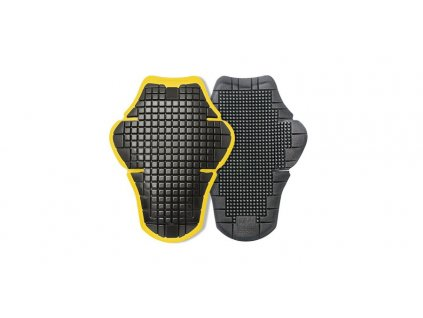 Páteřový chránič WARRIOR L2 vkládací certifikace CE2, SPIDI (černý/žlutý, vel. UNI)