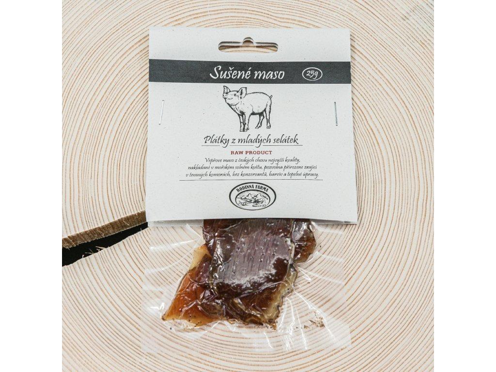 Sušené vepřové maso