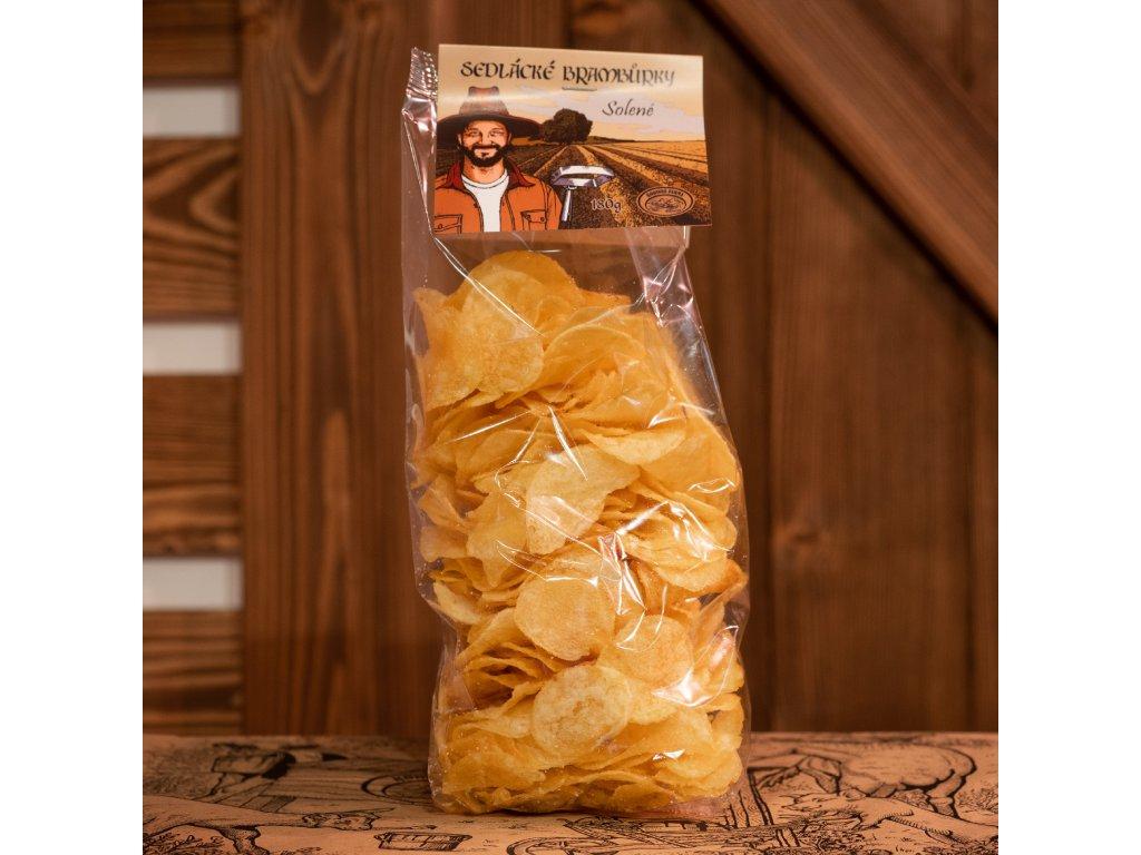Farmářské chipsy