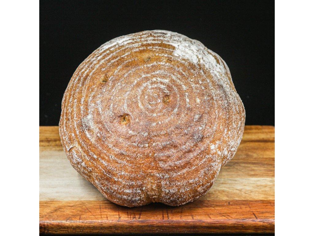Farmářský kváskový chléb