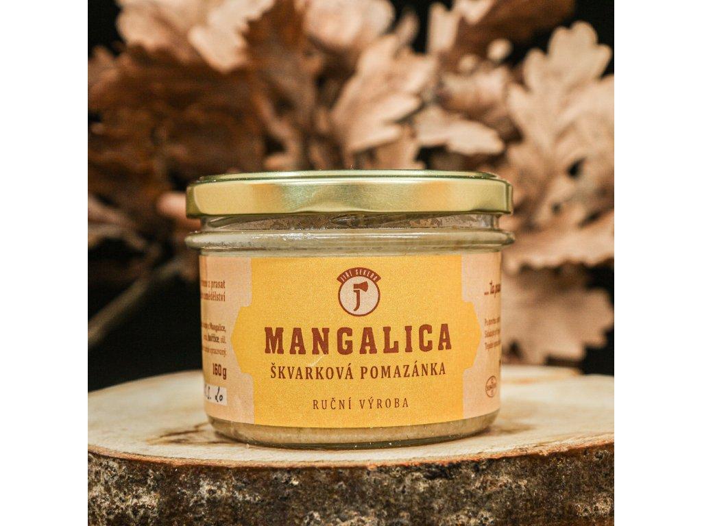 Škvarková pomazánka z mangalice