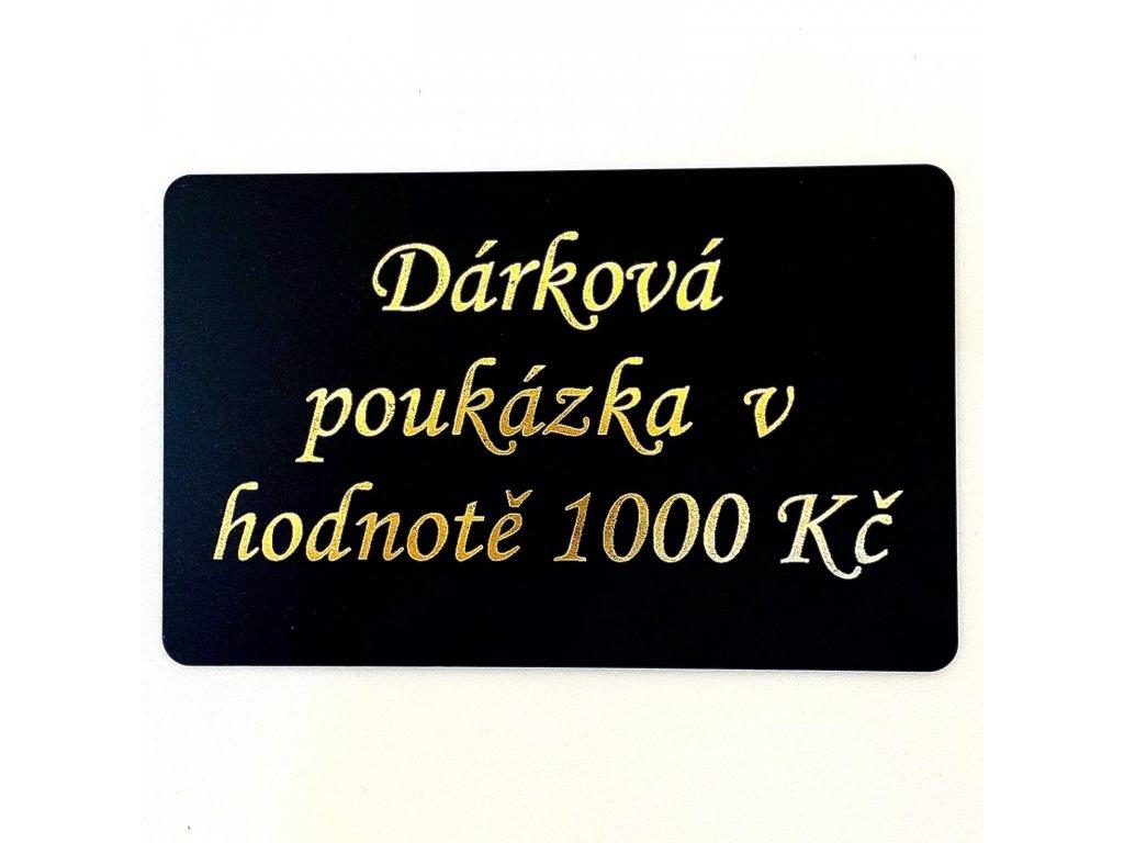 poukázka 1000kč