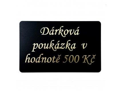 poukázka 500kč