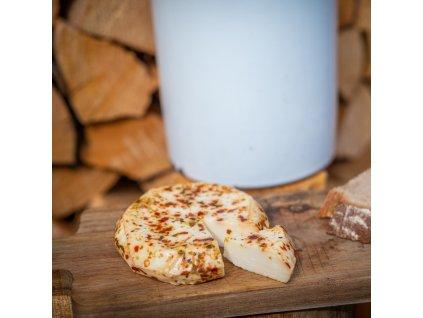 Čerstvý sýr s chilli