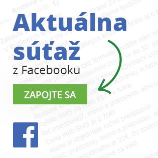 Aktuálna súťaž z Facebooku