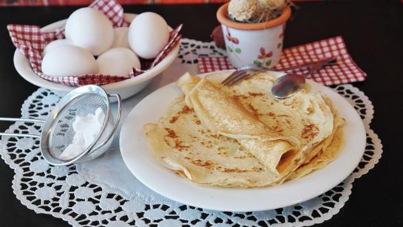 Palačinky s bulharským jogurtem RODOPI